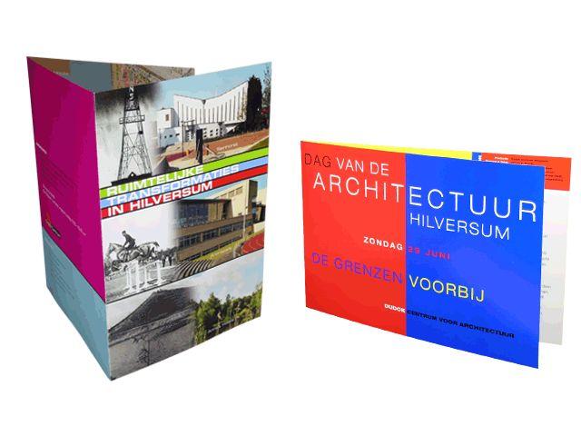 Hier is duidelijk te lezen dat het brochure over architectuur gaat. Ze maken dit nog duidelijker door plaatjes te laten zien van verschillende gebouwen en door perspectieven te gebruiken.