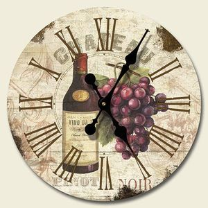 For my Wine themed kitchen :) and my mom always tells me to get a clock in my house !! :)
