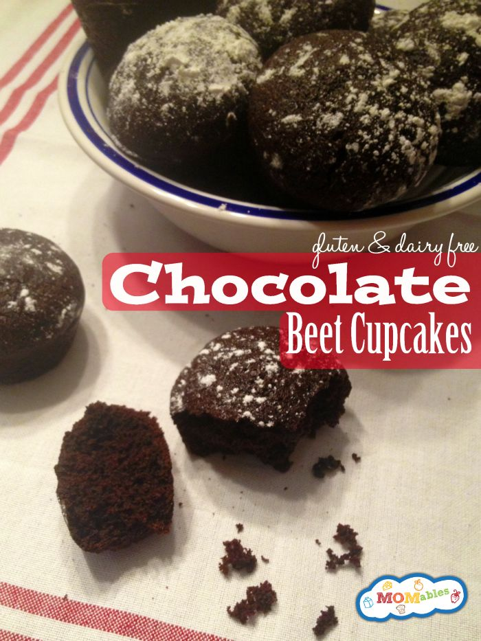 Chocolate Beet Cupcakes - MOMables.com