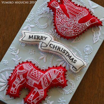 Christmas Ornament | HANDMADE WORKS                                                                                                                                                                                 もっと見る
