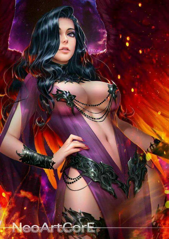 Sexy girl x fantasy art have