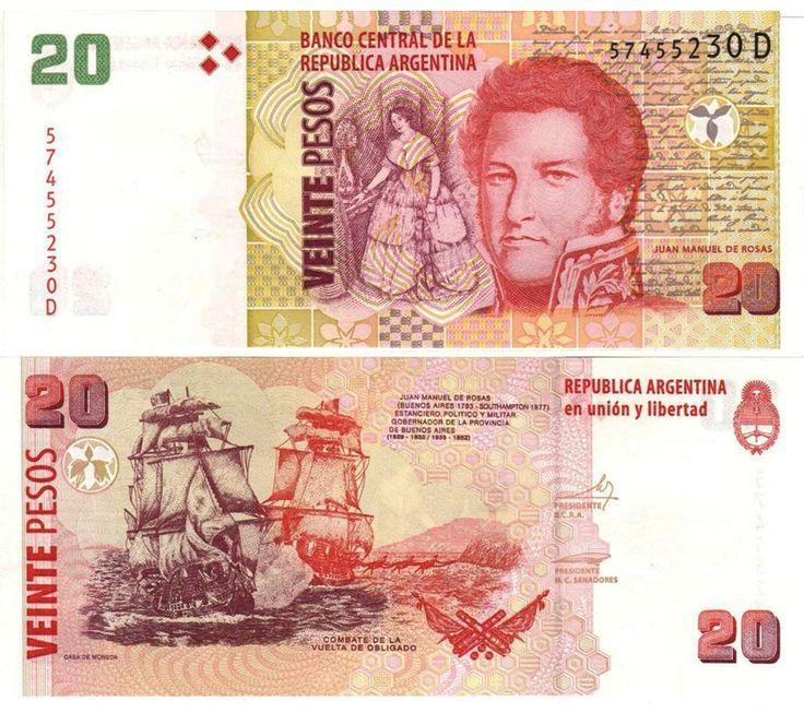 Argentina 20 pesos