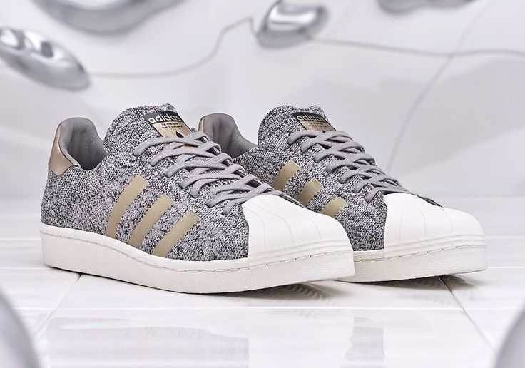 """adidas Superstar BOOST """"Noble Metal""""      Adidasis giving a new makeover to one of their most successful classics with the new adidas Superstar Boost """"Noble Metals"""". Just recently the brand tried on the BOOST midsole on the Superstars and now we're at it"""