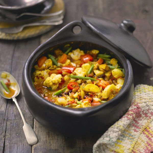 Gekruid stoofpotje van tofoe en groenten #najaar #WeightWatchers #WWrecept