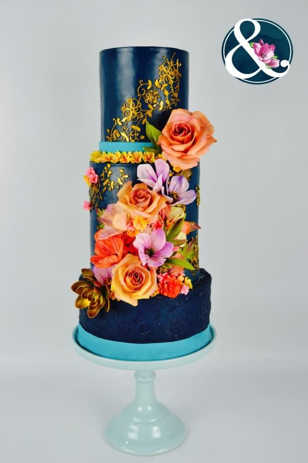 Wedding Cakes Inspired By Fashion A Worldwide Collaboration by Arte y Sabor