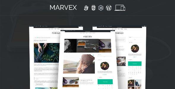 Ad: Marvex - Responsive #WordPress Blog Theme - News / Editorial Blog / Magazine 39$