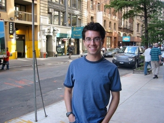 And what about lunch with author Jonathan Safran Foer in Brooklyn, New York!!!!!!!!
