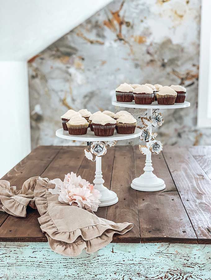 Tier Cake Stand Decorating Ideas Shabby Chic Cakes Cupcake