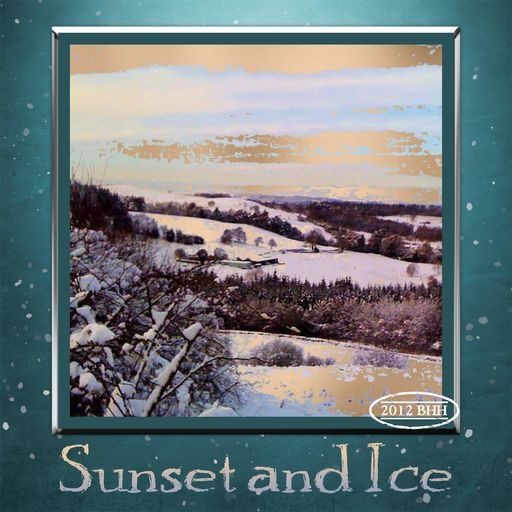 Sunset and Ice, a project by sunset, #Daisytrail #CraftArtist #Serif #a_sunset_scrap #Bwlchgwyn #NantyFfrith