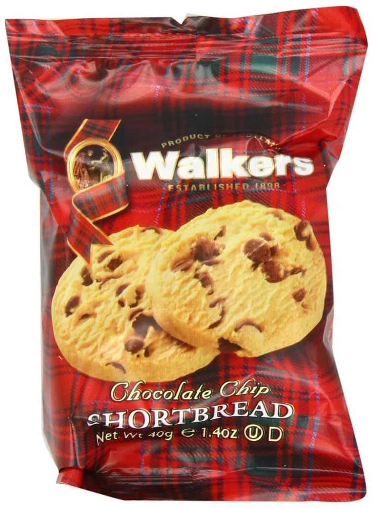 Walkers Shortbread Chocolate Chip Cookies, 2 Count (Pack of 24) -- Review more details here - Fresh Groceries