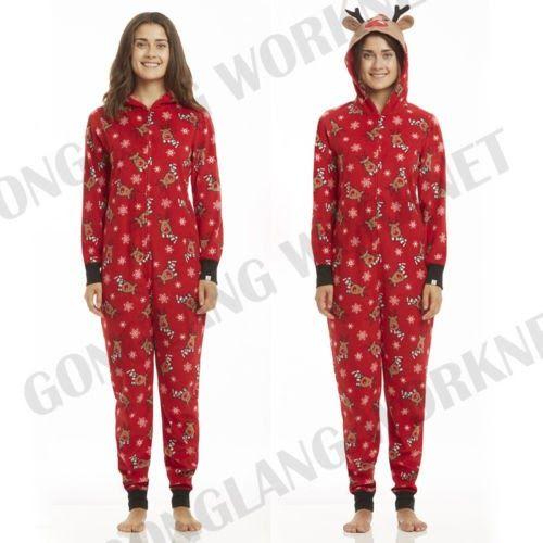 Big Discount Family Matching Christmas Pajamas Romper Jumpsuit Women Men  Baby Kids Red Print Xmas Sleepwear Nightwear Hooded Zipper Outfits c41c11cbf