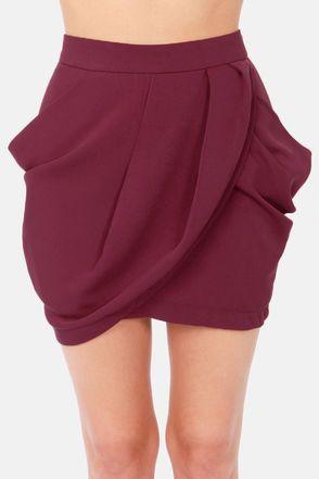 Lovely Layers Burgundy Tulip Skirt                                                                                                                                                                                 More