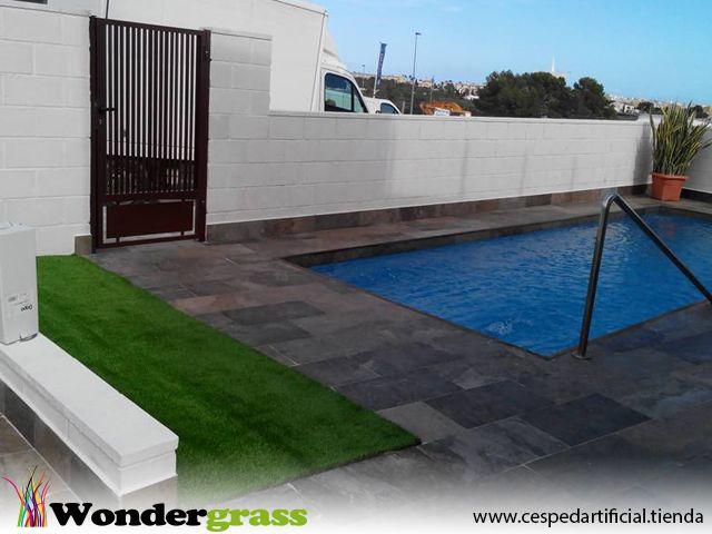 M s de 25 ideas incre bles sobre piscinas para comprar en - Cesped artificial colombia ...