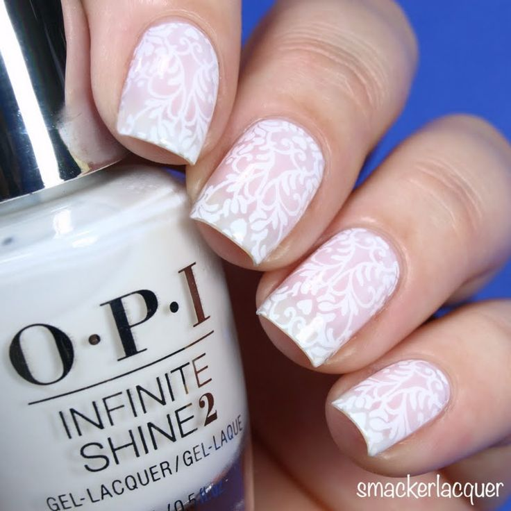 Chelsea paints her nails to supreme elegance using her gifted  OPI #InfiniteShine 2 Icons Nail Lacquer in Funny Bunny that she received for being a Preen.Me VIP. Snag this classic, soft-white shade by clicking through.