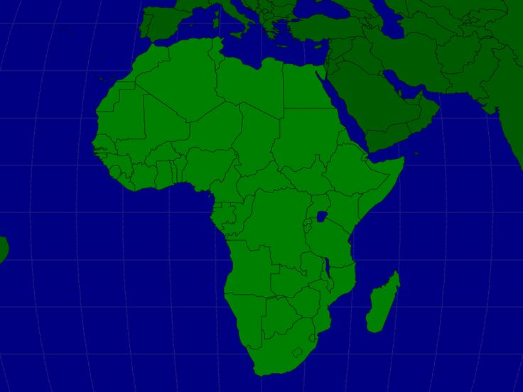 The countries of Africa map quiz game. Great for homeschooling.