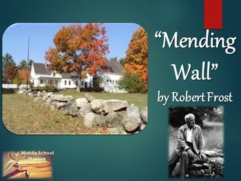 mending wall question and answers Mending wall is a poem by the twentieth century american poet robert frost (1874–1963) it opens frost's second collection of poetry, north of boston, published.