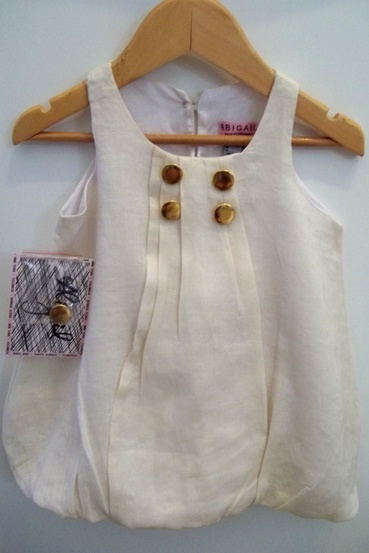 Abigail Childrenswear Globe linen dress