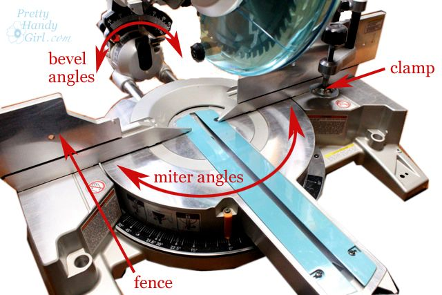 How to Use a Miter Saw - Tool Tutorial Friday - Pretty Handy Girl