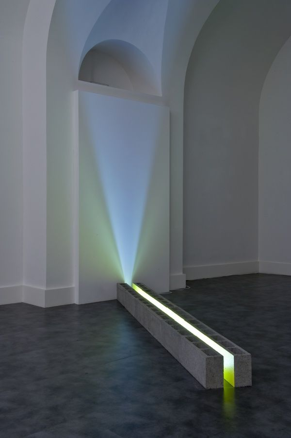 "Nathaniel Rackowe, installation view, ""Come Le Lucciole"" (Like Fireflies) at Nicoletta Rusconi, Milan"