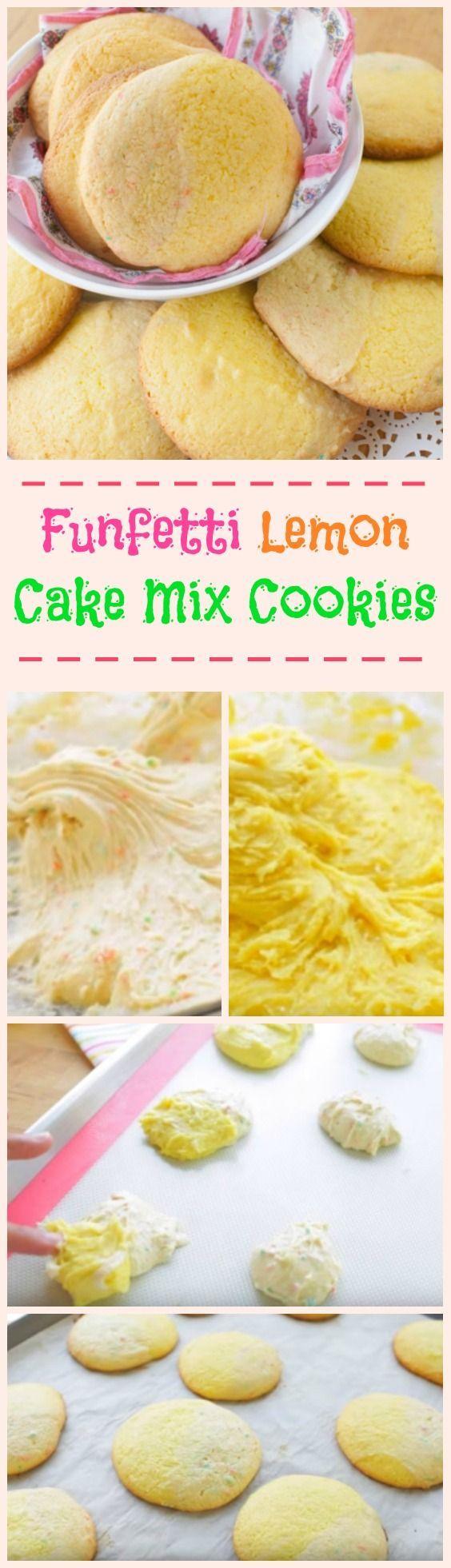 funfetti-lemon-cake-mix-cookies