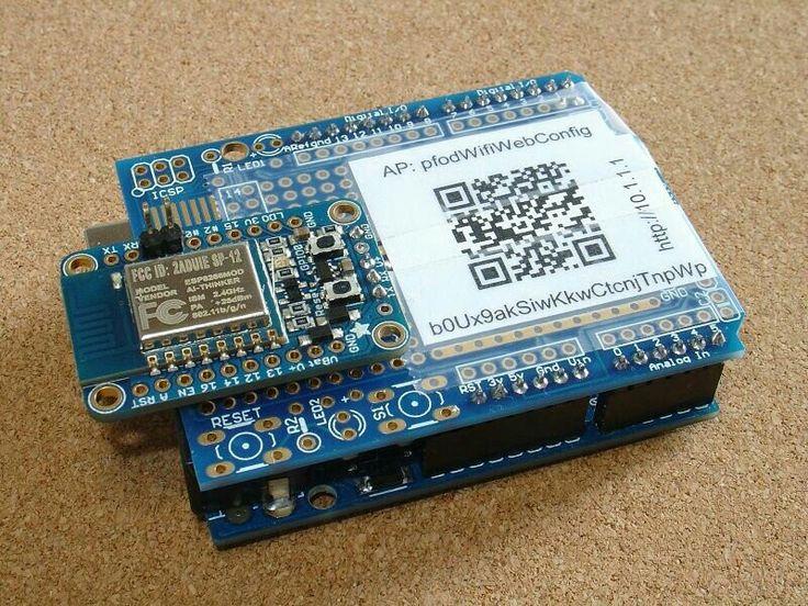 DIY Arduino WiFi shield-Instructables