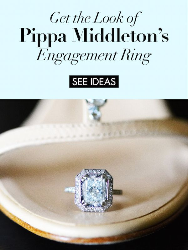 Get the Look of Pippa Middleton's Engagement Ring |  Photography: Tony Florez Photography. Read More:  http://www.insideweddings.com/news/celebrity-style/pippa-middleton-is-engaged-be-inspired-by-her-ring/3128/