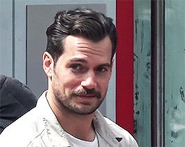 actor, Henry Cavill, and funny face image