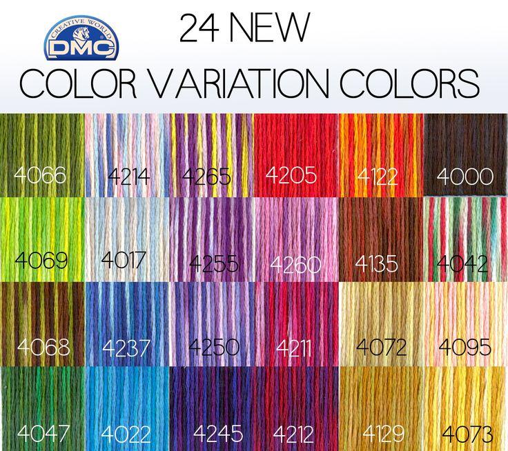 dmc thread color chart: 37 best dmc collors images on pinterest tables cross stitches