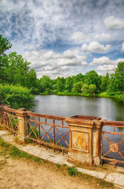 Aleksandrovsky Park . St Petersburg Russia