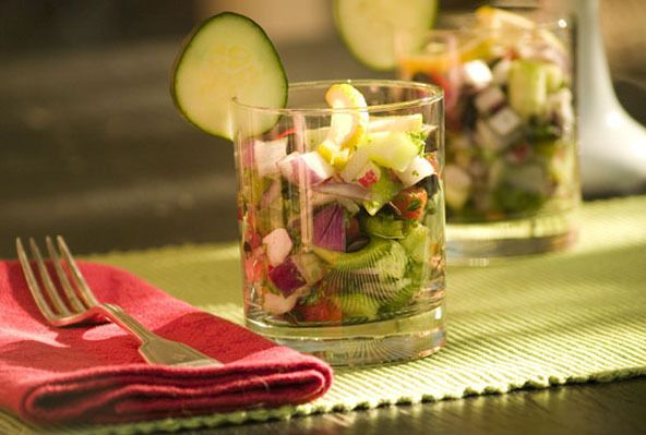 Turkish Chopped Salad by The Clothes Make The Girl
