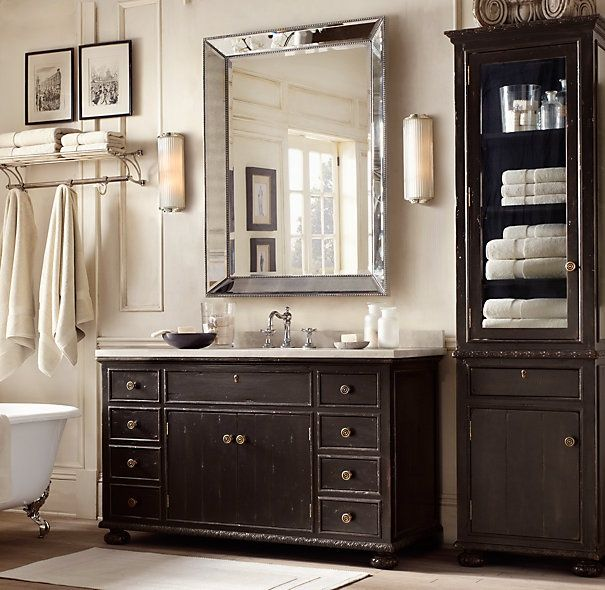 Best RH Images On Pinterest Living Room Furniture - Restoration hardware bathroom mirrors for bathroom decor ideas