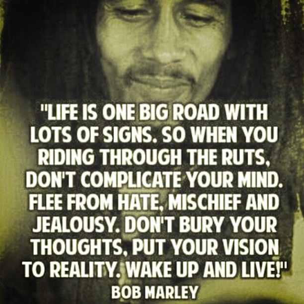 Love Quotes About Life: Awesome Bob Marley Quotes. QuotesGram