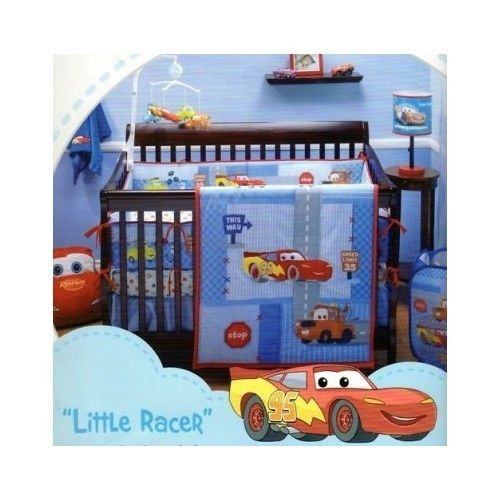 Disney Cars Little Racer Crib Bedding
