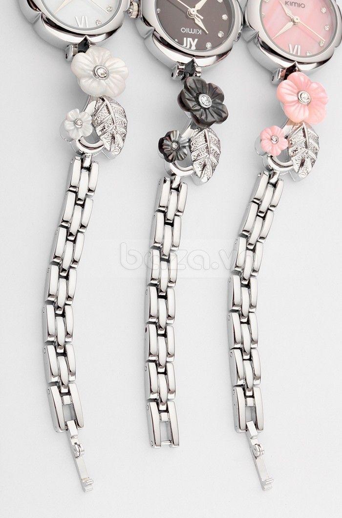 Đồng hồ nữ KIMIO đính pha lê  cao cấp tinh xảo - http://baza.vn/dong-ho-nu/c