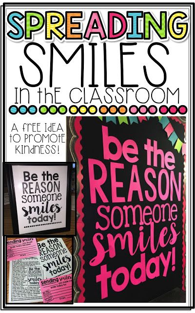 Promote Kindness in the Classroom with this FREEBIE and easy bulletin board!