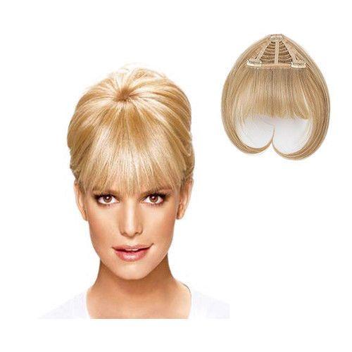 Jessica-Simpson-Ken-Paves-Clip-in-Bangs-Hair-Extensions-HairDo-HairUWear-NEW