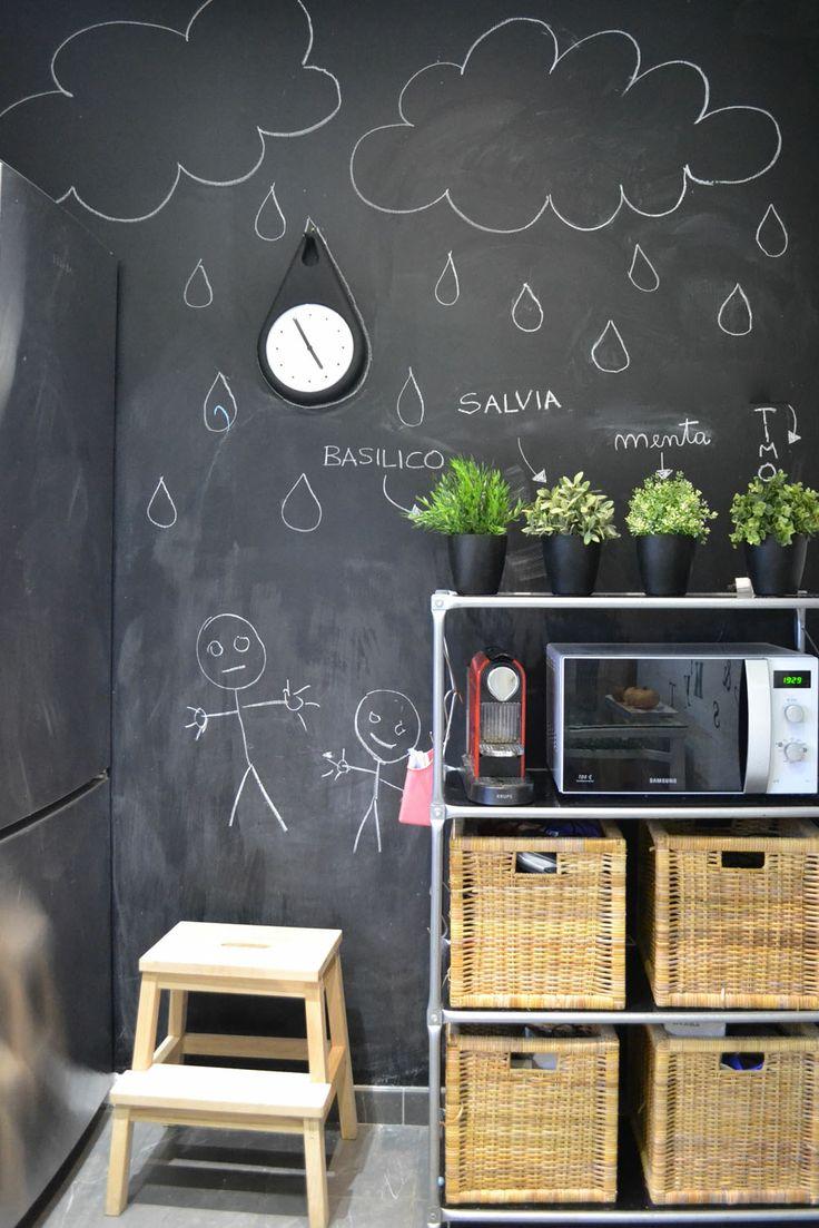 Magnetische Kreidetafel : Die Besten 25 Kreide Tafel Wandfarben Ideen Auf  Pinterest