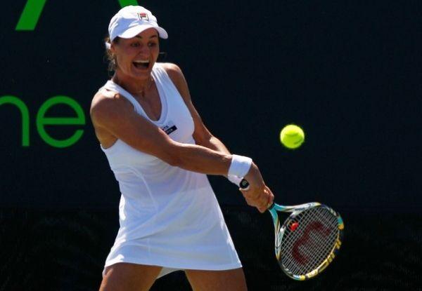 Monica Niculescu in action