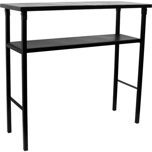 """39"""" high Deluxe Metal Portable Bar Table With Carrying Case"""