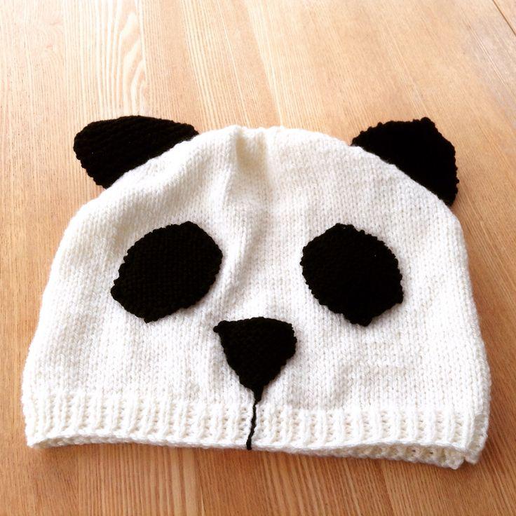 Panda hat for Kate