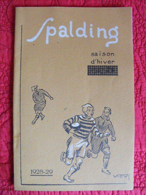 Spalding & Bross, fournisseur officiel des jeux olympiques de Paris 1924
