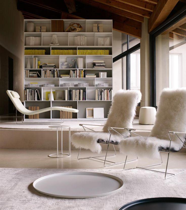 Der Sessel J.J. Von Bu0026B Italia, Entworfen Von Antonio Citterio
