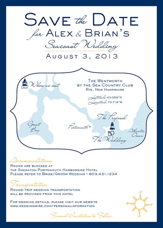 Sprouts neck country club wedding invitations