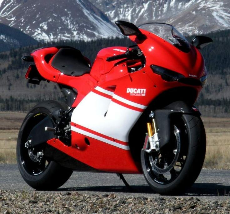 Ducati Desmosedici RR.                               Can't wait to get home