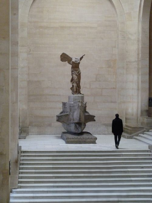 Louvre Museum, Paris. Victory (Nike) from Samothrace