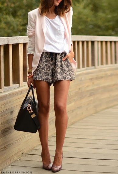 359 best Patterned Shorts Outfits images on Pinterest