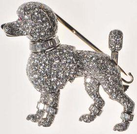 Grace Kelly Cartier Poodle Brooch