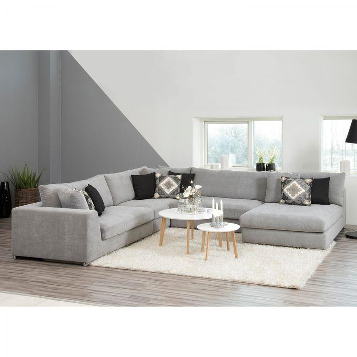 Die besten 25 Sofa grau Ideen auf Pinterest  Couch grau wohnzimmer Wohnzimmer sofas und