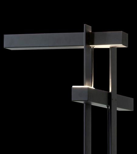 """Las by Oluce, the """"architectural"""" floor lamp"""