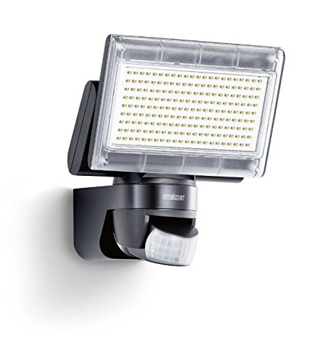 From 73.42 Steinel Xled Home 1 Black - Sensor-switched Led Floodlight With New 4000k Light Colour Outdoor Spotlight With 140 Infrared Motion Sensor And 14 M Reach 14.8 W Power With 1020 Lm Brightness 029661